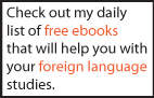 Free language learning books daily