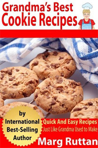 Grandma's Best Cookie Recipes is today's highest-rated free food book.