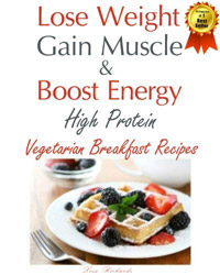 Check out this book of high protein vegetarian breakfast recipes. It's FREE today!