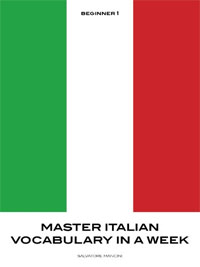 Master Italian Vocabulary in a Week is today's featured language book.