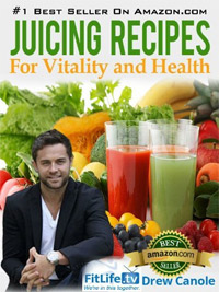 With more than 300 reviews, Juicing Recipes From Fitlife.TV Star Drew Canole For Vitality and Health is today's highest-rated free Kindle book.