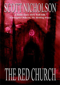 Paranormal thriller The Red Church has over 200 reviews and is today's highest-rated fiction book.