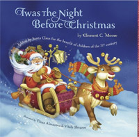 This beautifully illustrated version of Twas The Night Before Christmas is FREE today!