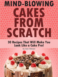 Mind-Blowing Cakes from Scratch is today's highest-rated free food-related book.