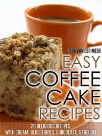 Today's highest-rated food/recipe book is Easy Coffee Cake Recipes.