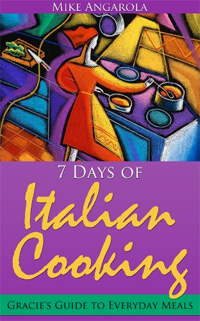 Italian Cooking is today's highest-rated free food/recipe book.