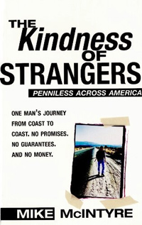 Today's highest-rated free nonfiction book is The Kindness of Strangers, about a guy who travels across America with no money in his pocket.