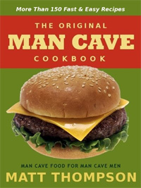 Today's highest-rated free food/recipe book is The Man Cave Cookbook: MoreThan 150 Fast and Easy Recipes for Dining In The Man Cave.