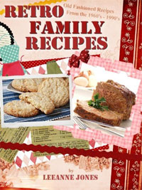 Today's highest-rated free food/recipe book is Retro Family Recipes.