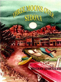 With 100 reviews, Three Moons Over Sedona is today's highest-rated free fiction book.