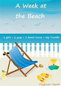 A Week at the Beach is today's highest-rated free fiction book.