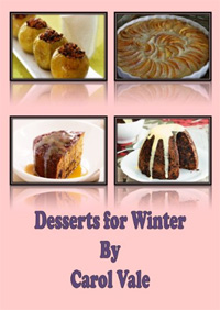 Desserts for Winter is today's highest-rated free food/recipe book.