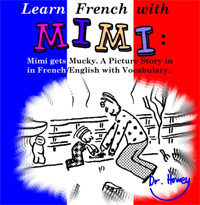 Learn French with Mimi is one of today's free foreign language books.