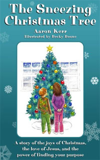 The Sneezing Christmas Tree is today's highest-rated free book for young people.