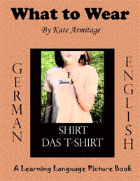 What to Wear (German/English) is one of today's free language-related Kindle books.