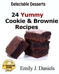 Delectable Desserts - 24 Yummy Cookie & Brownie Recipes is today's highest-rated free food/recipe book.