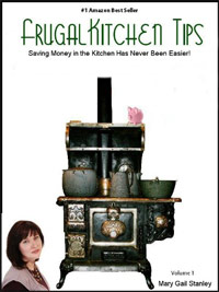 Frugal Kitchen Tips is today's highest-rated free food/recipe book.