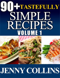 90+ Tastefully Simple Recipes Volume 1: Chicken, Pasta, Salmon Box Set! is today's highest-rated free food/recipe book.