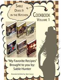Sable Does It in the Kitchen Cookbook Volume 1 is today's highest-rated free food/recipe book.