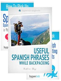 The Ultimate Spanish Phrases Book Bundle: Verbs, Cultural Insights, and Translations for When You're Backpacking, Eating Out at Restaurants, Dating, and More! is one of today's free language books.