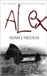 With 346 reviews, thriller Alex is today's highest-rated free Kindle book.
