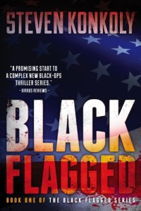 With 285 review, thriller Black Flagged is today's highest-rated free Kindle book.