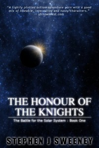 Military science fiction novel The Honour of the Knights is today's highest-rated free Kindle book.