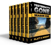 The first season of post-apocalyptic sci-fi series Yesterday's Gone is today's highest-rated free Kindle book.