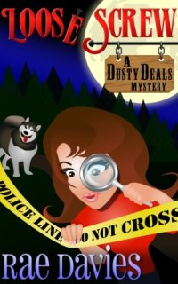 Cozy mystery novel Loose Screw is today's highest-rated free Kindle book.