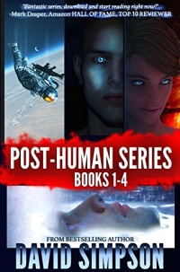 The boxed set of books 1–4 in the Post-Human Series are today's highest-rated free Kindle books.