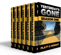 Dark fantasy/horror novel Yesterday's Gone is today's highest-rated free Kindle book.