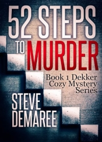Cozy mystery novel 52 Steps to Murder is today's highest-rated free Kindle book.