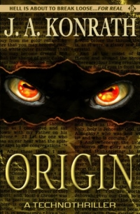 Suspense thriller Origin is today's highest-rated free Kindle book.
