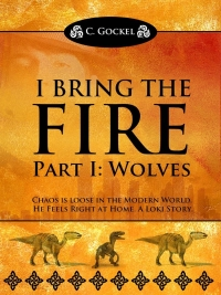 Mythological fiction novel I Bring the Fire (Part I: Wolves) is today's highest-rated free Kindle book.