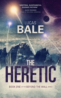 Science fiction novel The Heretic is today's featured free Kindle book.