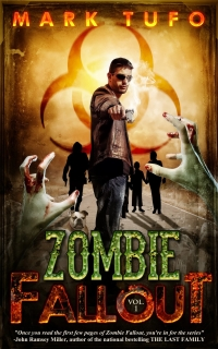 Zombie apocalypse novel Zombie Fallout is today's highest-rated free Kindle book.