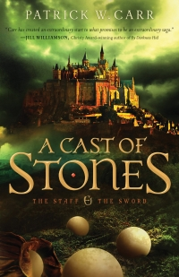 Fantasy novel A Cast of Stones is today's highest-rated free Kindle book.