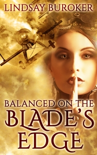 Steampunk romance novel Balanced on the Blade's Edge is today's highest-rated free Kindle book.