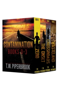 The boxed set of four books in the Contamination series is today's free Kindle book.