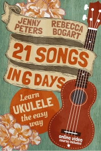 21 Songs in 6 Days: Learn to Play Ukulele the Easy Way: Ukulele Songbook is today's featured fee nonfiction book.