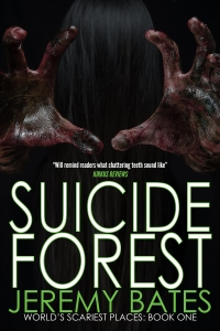 Horror/thriller novel Suicide Forest is today's highest-rated free Kindle book.
