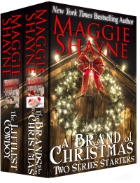 Christmas romance boxed set A Brand of Christmas is today's highest-rated free Kindle book.