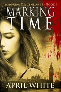 YA time travel romance Marking Time is today's highest-rated free Kindle book.