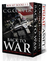 Corps Justice Boxed Set: Books 1-3 is today's highest-rated free Kindle freebie.