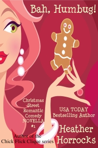 Romantic Christmas comedy Bah Humbug is today's highest-rated free Kindle book.