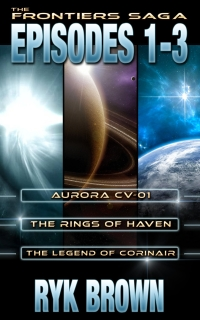 Science fiction collection The Frontiers Saga: Episodes 1-3 is free today.
