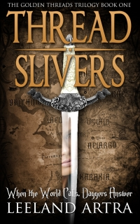 Fantasy novel Thread Slivers is today's featured free Kindle book.