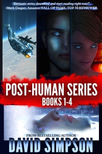 Science fiction boxed set Post-Human Series Books 1-4 is today's highest-rated free Kindle freebie.