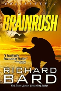 Thriller Brainrush is today's highest-rated free Kindle book.