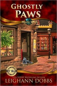 Cozy mystery Ghostly Paws is today's highest-rated free Kindle book.